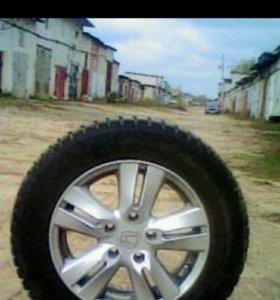 Зимние колеса R 15 на литых дисках