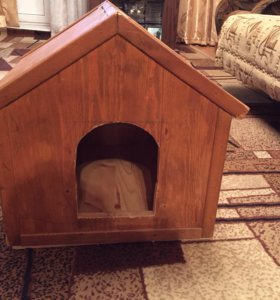 Домашняя будка для маленькой собачки