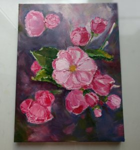 Картина 'pink rose'
