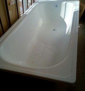 Ванна стальная новая эмалированная