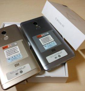 Xiaomi Redmi Note 4x 3/32Gb Новый, чехол + стекло