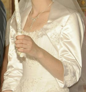 Накидка свадебная (болеро)