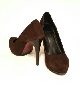 Замшевые туфли 36