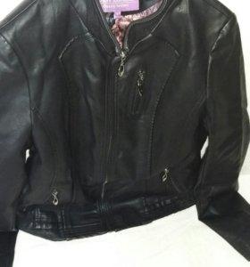 Куртка ЭКО кожа новая
