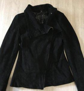 Замшевая куртка косуха Exclusive