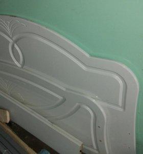Двухспальная кровать без матраца