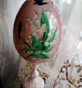 Яйцо пасхальное большое.