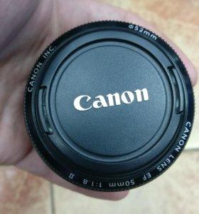 Объектив Canon 50