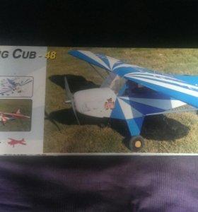 Радиоуправляемый самолет Clipped wing cub