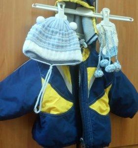Куртка + шапочка +носочки