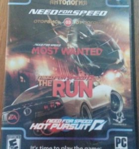 Игра на PC. NEED FOR SPEED MOST WANTED,THE RUN.