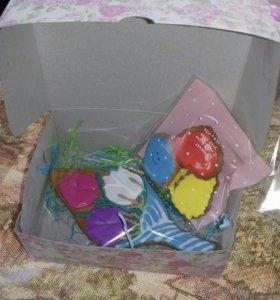 Пряничное имбирное печенье подарочные наборы