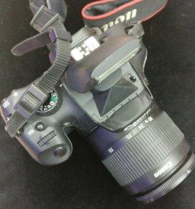 Canon 550d плюс китовый объектив