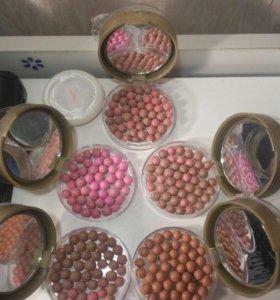 2в1 пудра -румяна шариковые