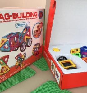 Конструктор магнитный 36 дет. Mag-building
