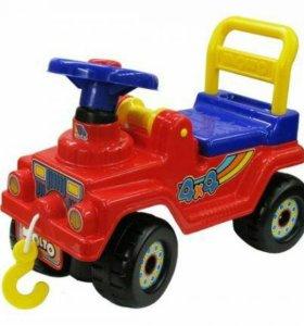 Автомобиль-каталка джип