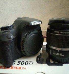 Продаю фотоаппарат Canon 500d