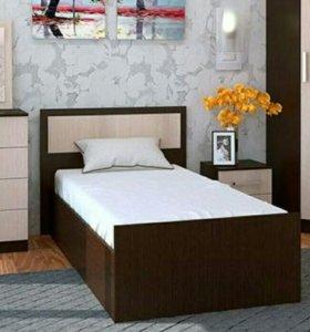Кровать 90  с матрасом