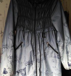 Демисезонное пальто для беременных размер 48-50