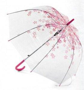 Зонт трость нежность