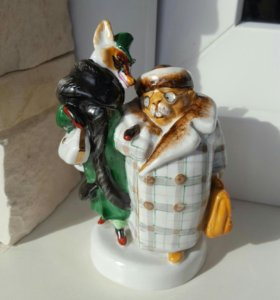 Статуэтка лиса и бобёр лфз