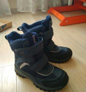 Зимние мембранные ботинки капика