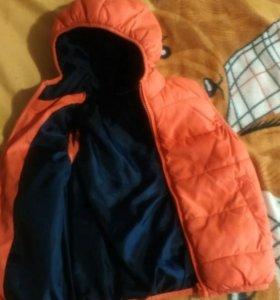 Куртка-желет.