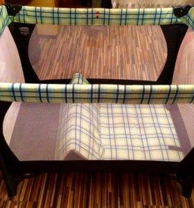 Переносная кровать-манеж