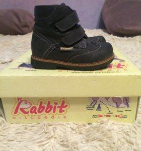 Детские ботиночки rabbit