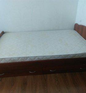 Кровать и матрас 120*200
