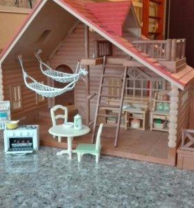 Дом, авто, мебель, звери sylvanian families