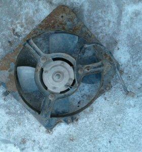 Вентилятор охлаждения ваз 2109