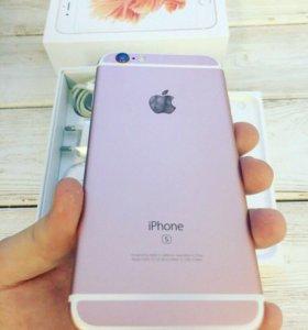 iPhone 6s 64gb rose(розовый)