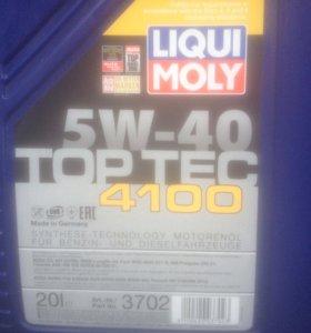 Масло моторное Liqui Moly Top Tec 4100 5W-40 (20л)