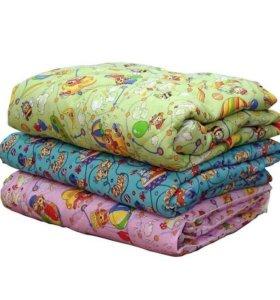 Подушки,одеяла