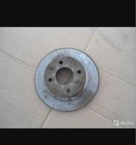Тормозной диск акцент