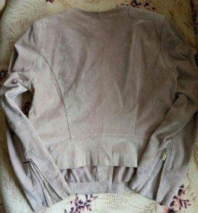 Куртка замшевая Mango