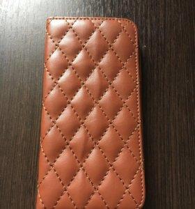 Чехол для айфона из кожи
