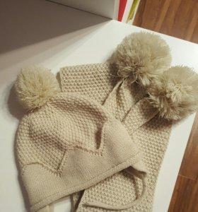 Шапка и шарф Zara
