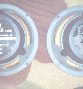 Колонки Hertz ev, ecx 165