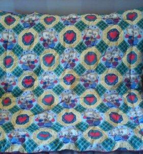 Детское одеяло(теплое)