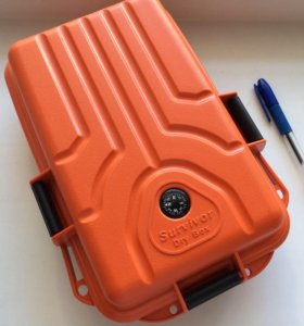 Водонепроницаемая коробка MTM Survivor Dry Box