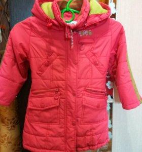 Пальто демисезонное стеганное фирмы Kiko