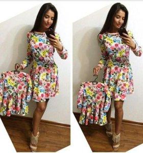 Комлект платьев мама+дочка