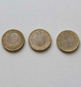 Три 1 евро