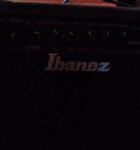 Гитара и комбик Ibanez
