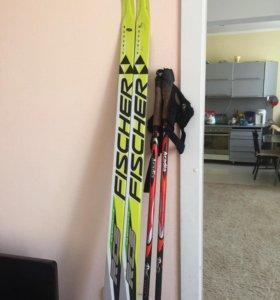 Лыжи гоночные канек