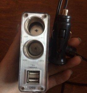 USB x2 twin sockets