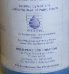 Запасная кассета к фильту для воды пр-ва США