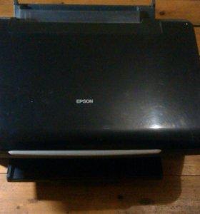Цветной Принтер Epson.